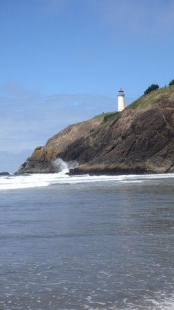 Cape Disappointment State Park: Great view from the beach
