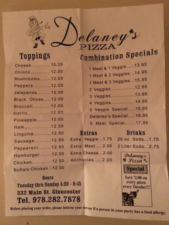 Delaney's Pizza