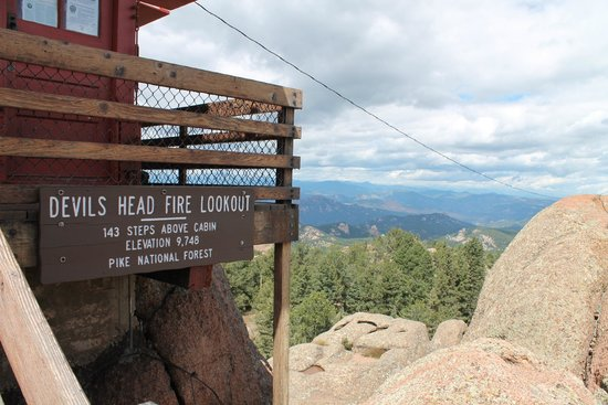 Devil's Head Fire Lookout: Devil's Tower Lookout