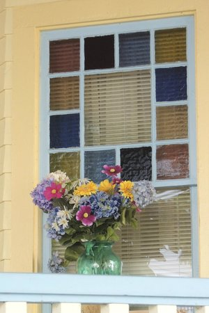 Chautauqua Institution: Porch window