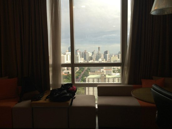 Pathumwan Princess Hotel : Great View from level 28