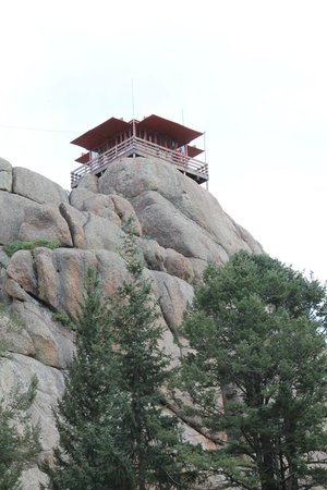 View Of Pikes Peak Picture Of Devil S Head Fire Lookout