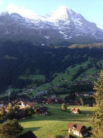 Belvedere Swiss Quality Hotel: a view from the room