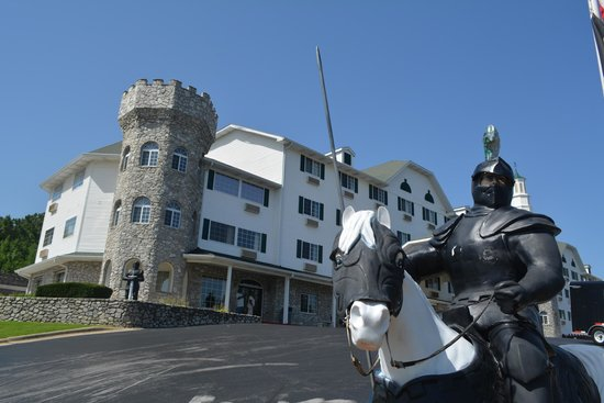 The Stone Castle Hotel & Conference Center : Loved the setting