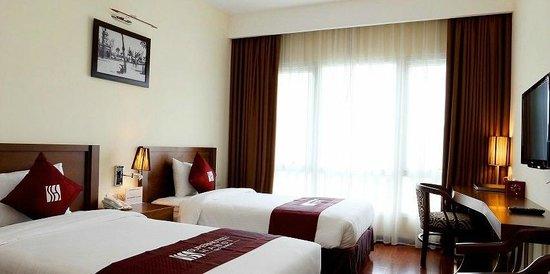 Super hotel Hanoi Old Quarter: Superior Twins