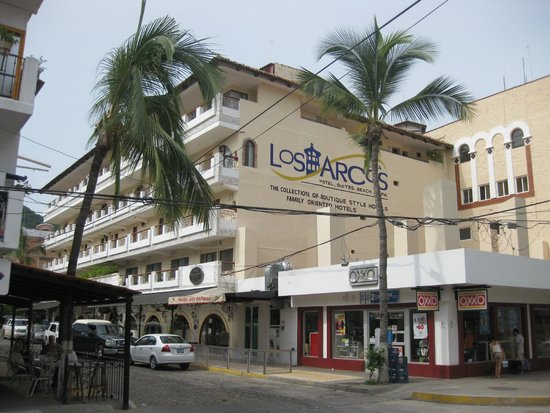 Playa Los Arcos Hotel Beach Resort Spa View From The Street