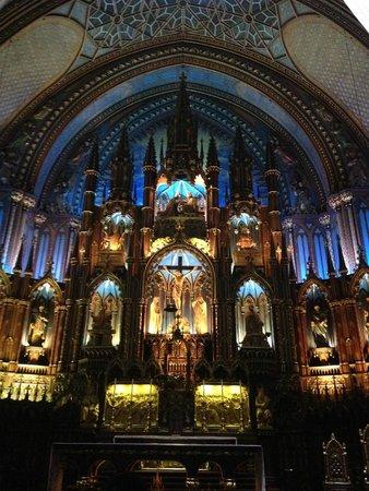 Notre-Dame de Montréal: Basílica de Notre-Dame