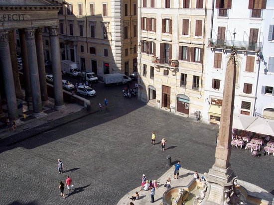 Hotel Abruzzi: View from room