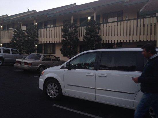 Quality Inn Monterey - Fremont Street: Veduta