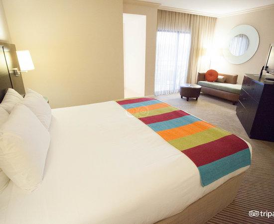 The Island Suite King at the Hilton Orlando Buena Vista Palace Disney Springs