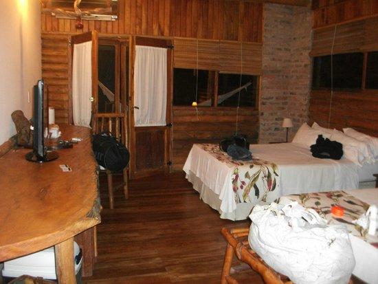 La Aldea de la Selva Lodge: Habitacion Kerana