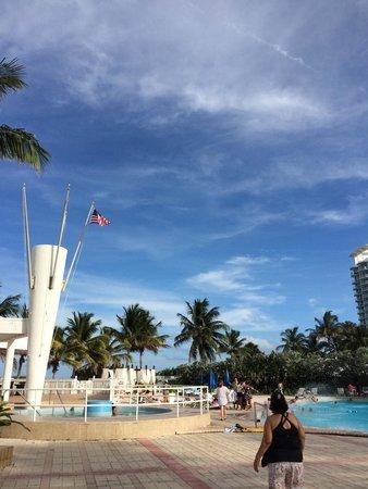 Deauville Beach Resort: Hotel