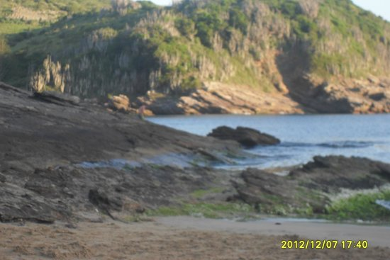Ferradurinha Beach : tarde en ferradurinha