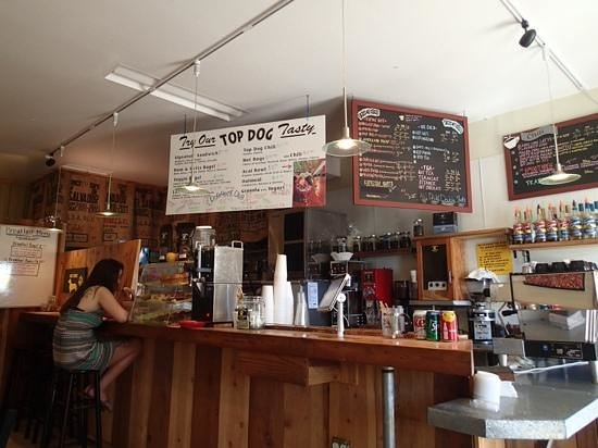 Top Dog Coffee Bar: good coffee