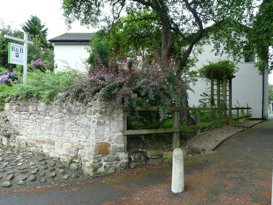 Peartree Bed and Breakfast: Entrance from main street
