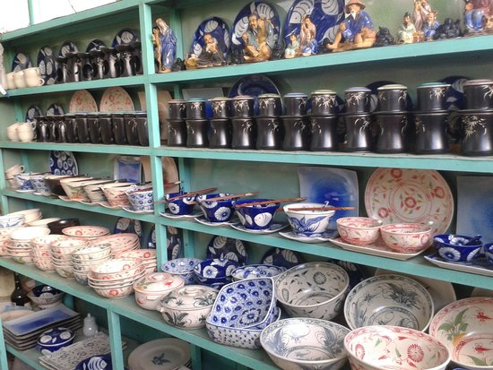 Thanh Ha Pottery Village: products