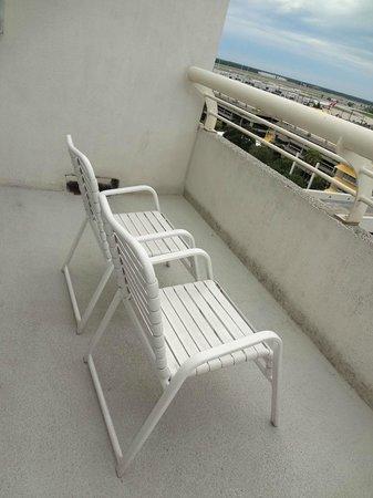 Hyatt Regency Orlando International Airport: バルコニー