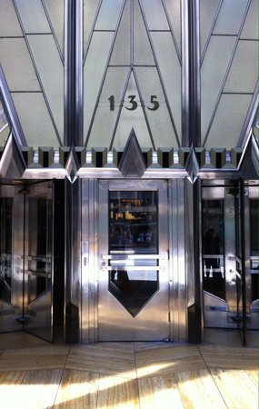 Chrysler Building: Stunning entrance to lobby