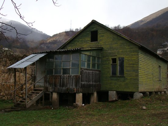 Gosh, Armenia: Домик на заднем дворе