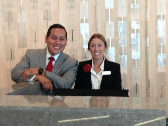 Marriott Marquis Washington, DC: Great reception staff