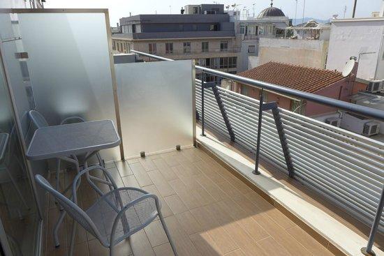Hermes Hotel: Balcony