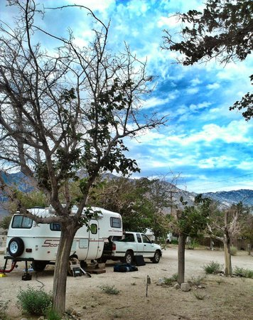 Olancha RV Park and Motel: Our RV spot