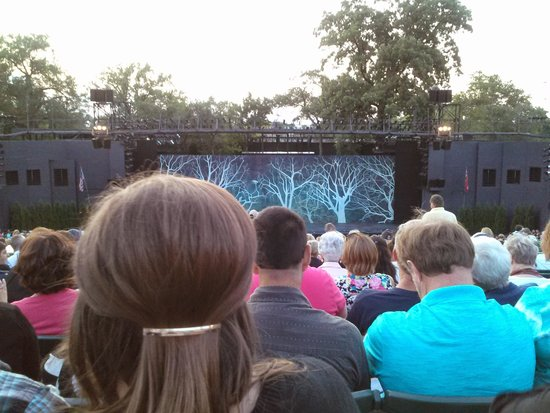 The View From My Seat Picture Of The Muny Saint Louis