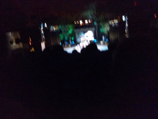 I sneaked a night picture at the MUNY