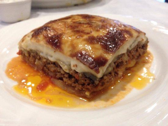 Mousaka - Picture of Greek Kitchen, New York City - TripAdvisor