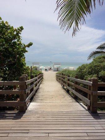 COMO Metropolitan Miami Beach: Vers la plage