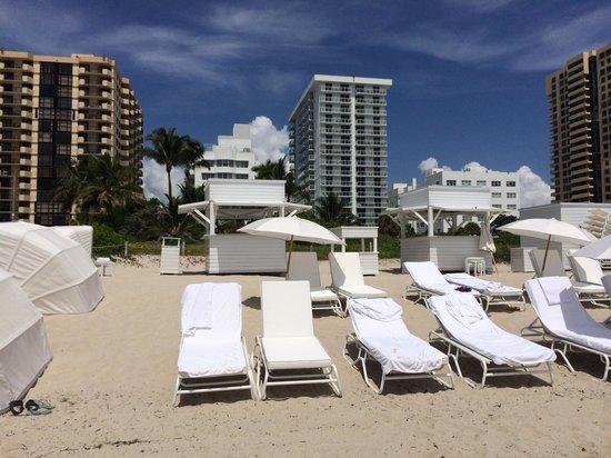 COMO Metropolitan Miami Beach: Plage