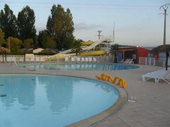 Siblu Villages - Le Montourey : The pool at 5am