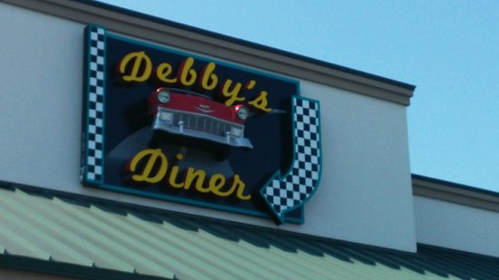 Debby's Diner: The sign says it all.