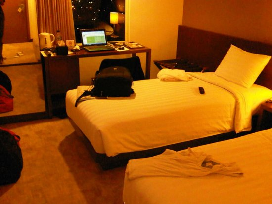 Park Hotel Jakarta: small room for this hotel level