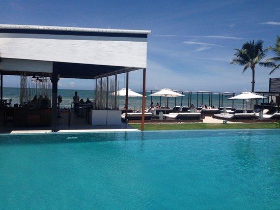 Putahracsa Hua Hin: Pool/beach view