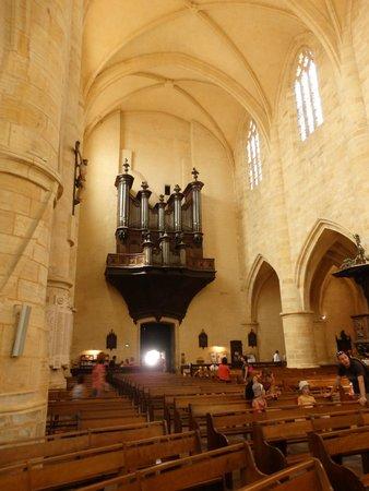 Cathédrale Saint-Sacerdos  : intérieur et orgue