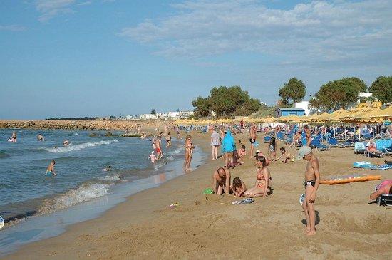 Mitsis Rinela Beach Resort & Spa : Пляж