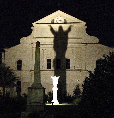 Bourbon Orleans Hotel: Touchdown Jesus!!