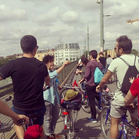 Tour privado Berlin en bicicleta
