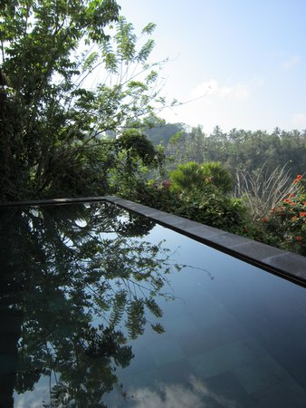 Hanging Gardens of Bali: private pool area