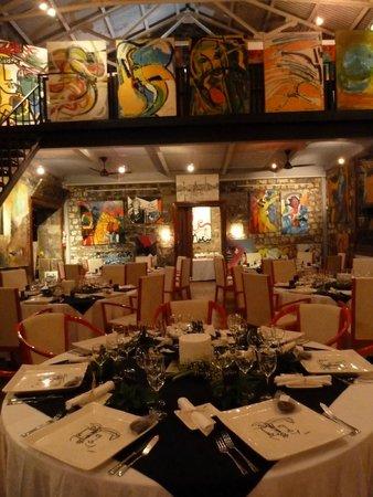 Le Cafe des Arts: le restaurant