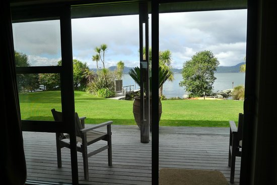 Koura Lodge: View From Inside Our Room