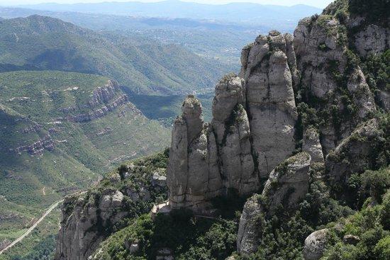 Barcelona Turisme - Afternoon in Montserrat Tour: Montserrat Mountain