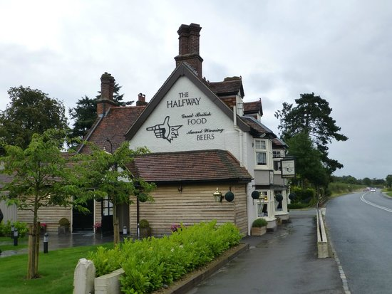 The Halfway Inn: Side view