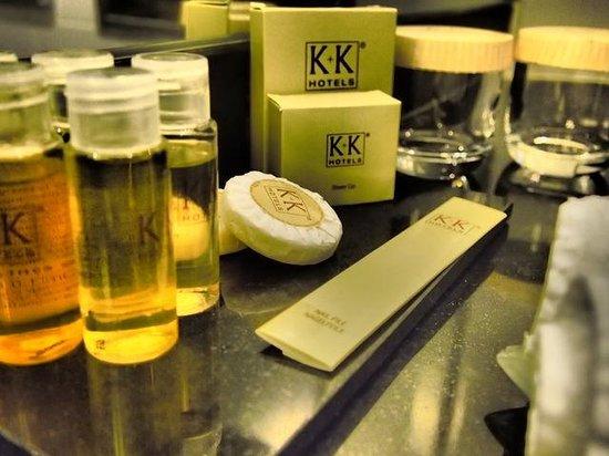 K+K Hotel Cayre: アメニティ