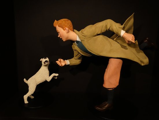Moof Museum: Tintin