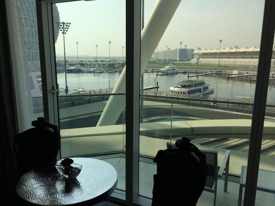 Yas Viceroy Abu Dhabi: View from room