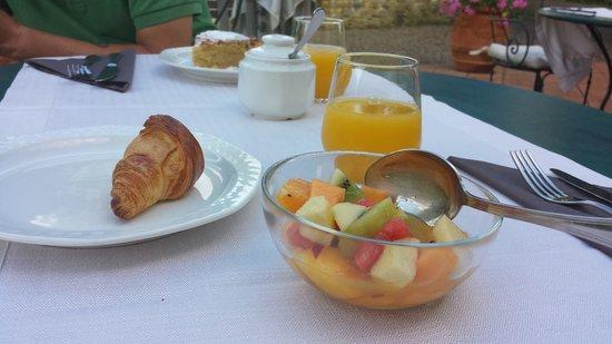 Fattoria La Palazzina : la colazione
