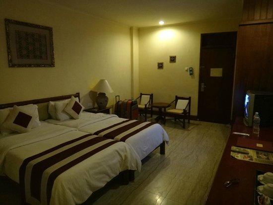 Grand Istana Rama Hotel Bali: 房間很寬敞