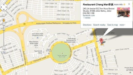 Google Maps 169 Picture Of Restaurant Chang Man Johor